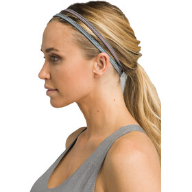 Prana Printed Double Headband Women granite sunrise